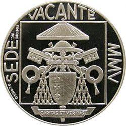 5 евро, Ватикан (Вакантный престол)