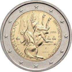 2 евро, Ватикан (Год Апостола Павла)