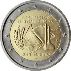 2 евро, Сан-Марино (Европейский год творчества и инноваций)