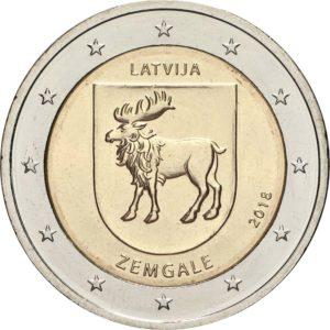 2 евро, Латвия (Историческая область Земгале)