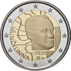 2 евро, Финляндия (100 лет со дня рождения Вяйнё Линна)