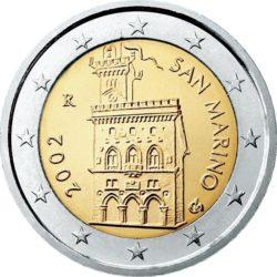 2 евро, Сан-Марино (тип 1)