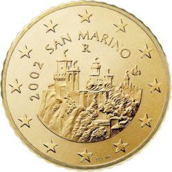 50 евроцентов, Сан-Марино (тип 1)