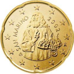 20 евроцентов, Сан-Марино (тип 1)