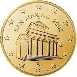 10 евроцентов, Сан-Марино (тип 1)
