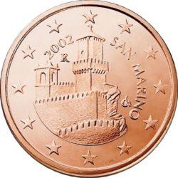 5 евроцентов, Сан-Марино (тип 1)