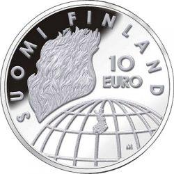10 евро, Финляндия (50 лет Олимпийским играм в Хельсинки)