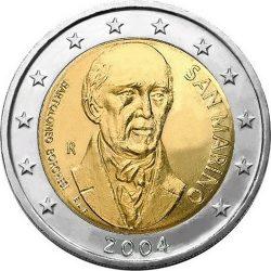 2 евро, Сан-Марино (Бартоломео Боргези)