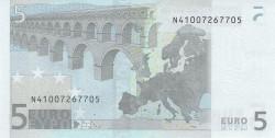 5 евро, обратная сторона