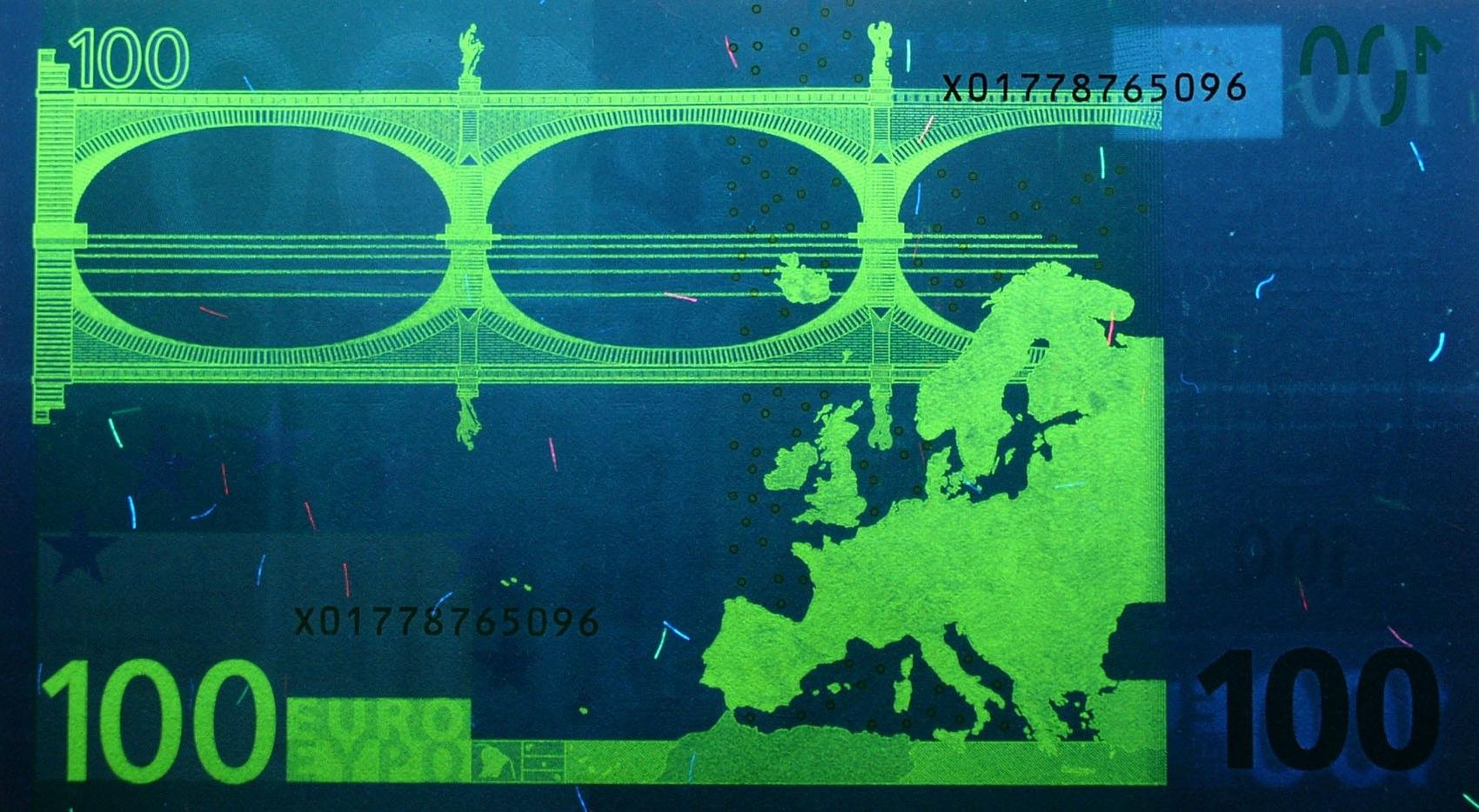 Банк эмитент евро много марок