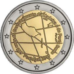 2 евро, Португалия (600-летие открытия архипелага Мадейра)