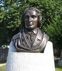 Памятник Ф.Прешерну в Любляне