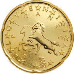 20 евроцентов, Словения