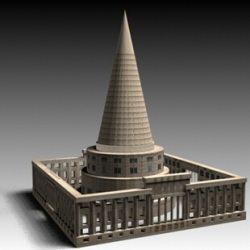 Трехмерная модель идеи Йоже Плечника