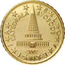 10 евроцентов, Словения
