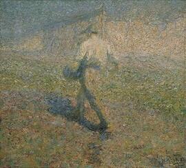 Картина Ивара Грохара «Сеятель» (1907)