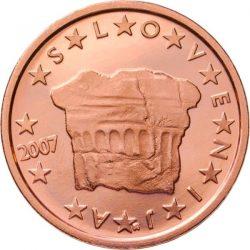 2 евроцента, Словения