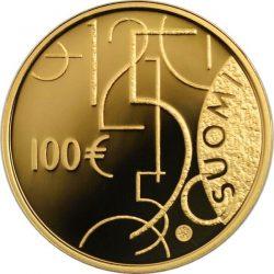 100 евро, Финляндия (150 лет финской валюте)