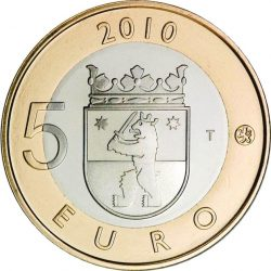 5 евро, Финляндия (Сатакунта)