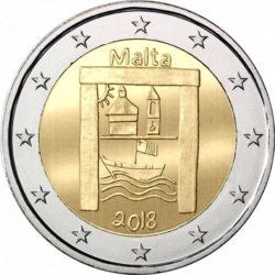 2 евро, Мальта (Культурное наследие)