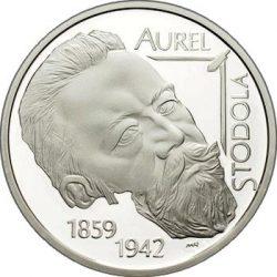 10 евро, Словакия (150 лет со дня рождения Ауреля Стодолы)