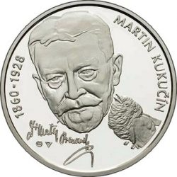 10 евро, Словакия (150 лет со дня рождения Мартина Кукучина)