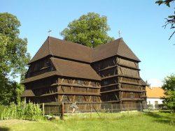 Церковь в Гронсеке 1726 года постройки