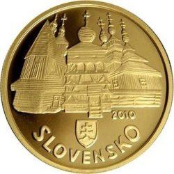 100 евро, Словакия (Деревянные церкви словацких Карпат)