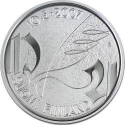 10 евро, Финляндия (Микаэль Агрикола и финский язык)