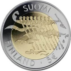 5 евро, Финляндия (90 лет независимости Финляндии)