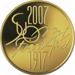 100 евро, Финляндия (90 лет независимости Финляндии)