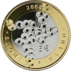 5 евро, Финляндия (100 лет финской науке и исследованиям)