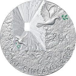20 евро, Финляндия (Мир и безопасность)