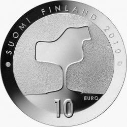 10 евро, Финляндия (Ээро Сааринен и финская архитектура)