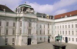 Площадь Йозефсплатц в Вене