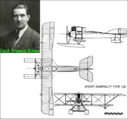 Сесил Францис Килнер и его гидроплан Short Admiralty Type 135