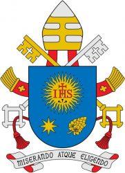 Личный герб папы римского Франциска
