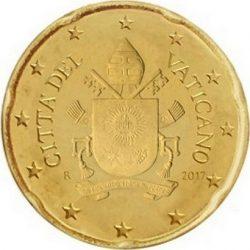 20 евроцентов, Ватикан (тип 5)