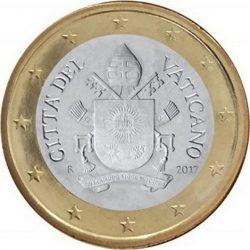 1 евро, Ватикан (тип 5)