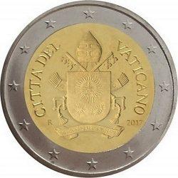 2 евро, Ватикан (тип 5)