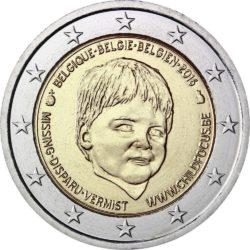 2 евро, Бельгия (20-летие европейского центра Child Focus)