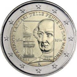 2 евро, Сан-Марино (500 лет со дня смерти Донато Браманте)