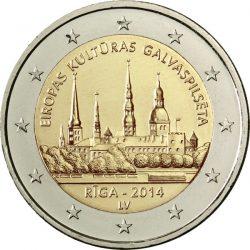 2 евро, Латвия (Рига — Культурная столица Европы)