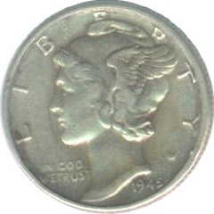 Extremely fine coin