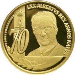 50 евро, Бельгия (70 лет королю Альберту II)