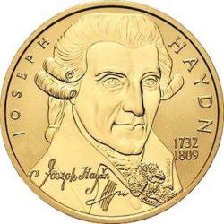 50 евро, Австрия (Йозеф Гайдн)