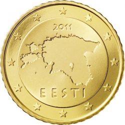 50 евроцентов Эстонии, аверс