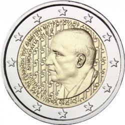 2 евро, Греция (120 лет со дня рождения Димитриса Митропулоса)