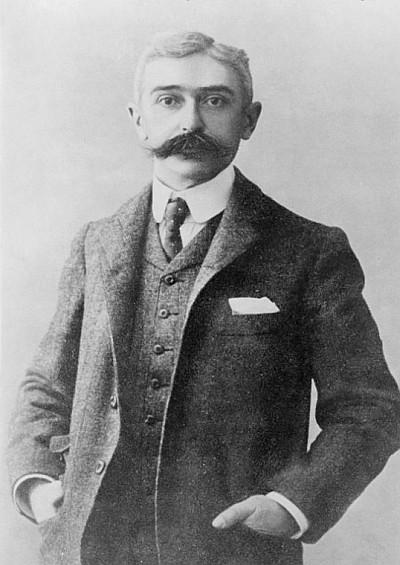 Барон Пьер де Кубертен (1915)