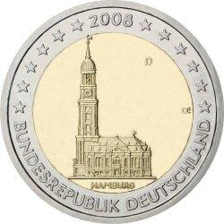 2 евро, Германия (Гамбург)